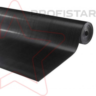 Резиновое покрытие мелкоребристое Альфа 1*10 м.