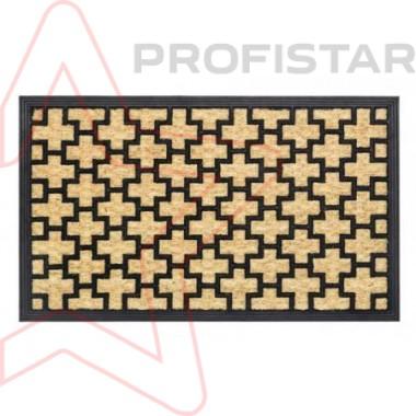 Входной коврик Бакара 45x75. Кокос на резиновой основе