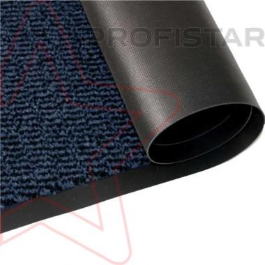 Грязезащитное влаговпитывающее рулонное покрытие Спектрум синего цвета