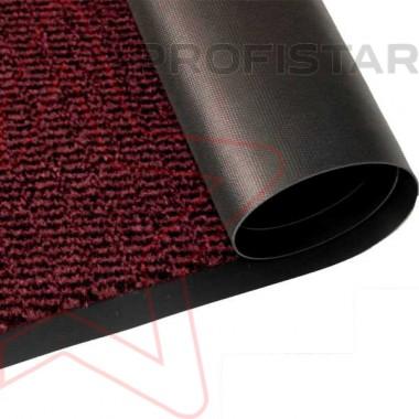 Грязезащитное влаговпитывающее рулонное покрытие Спектрум красного цвета