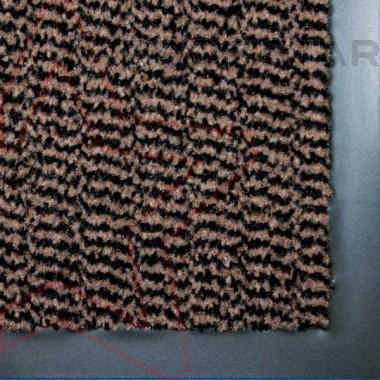 Грязезащитный влаговпитывающий ковер Спектрум коричневого цвета