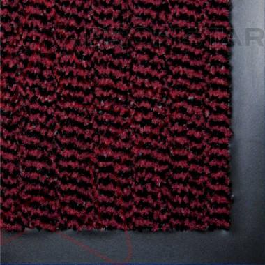 Грязезащитный влаговпитывающий ковер Спектрум красного цвета