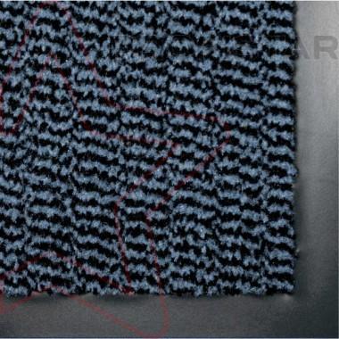 Грязезащитный влаговпитывающий ковер Спектрум синего цвета