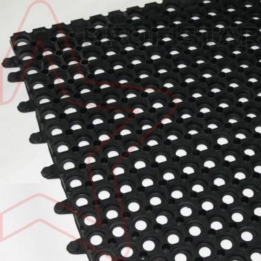 Резиновый ковер Домино 100*100 модульный