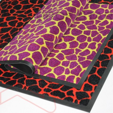 Придверный ковер на резине Профи стар Жираф