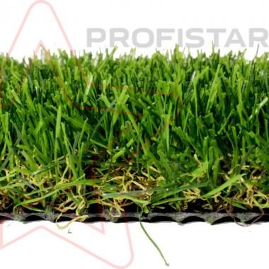 Декоративная рулонная искусственная трава Ливерпуль высотой 35 мм