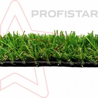 Декоративная рулонная искусственная трава Ливерпуль лайт, высотой 25 мм
