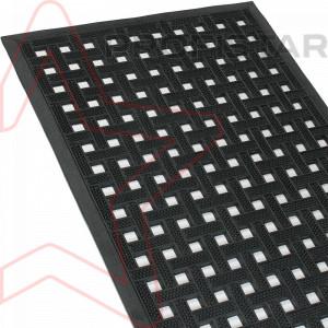 Резиновый ковер Кватро 60*90 см.