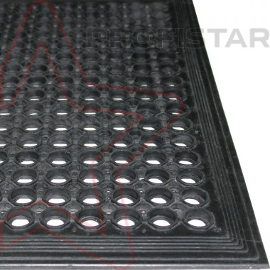 Супер Домино - входной коврик дырчатый из резины