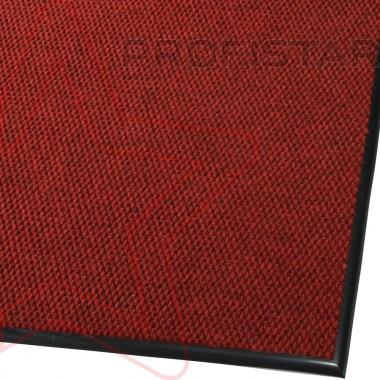 Грязезащитный износостойкий ковер Super Star красный
