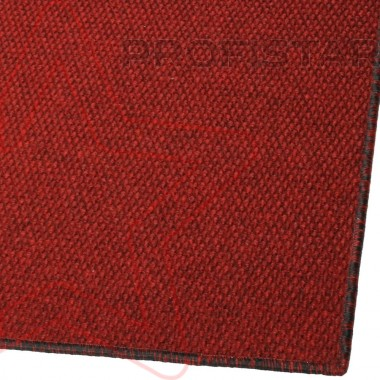 Грязезащитный ковер Super Star оверлок красный