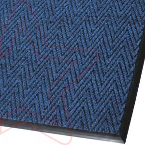 Грязезащитный ковер Зип Стар синий