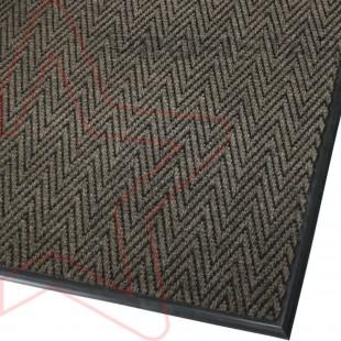 Грязезащитный ковер Зип Стар коричневый